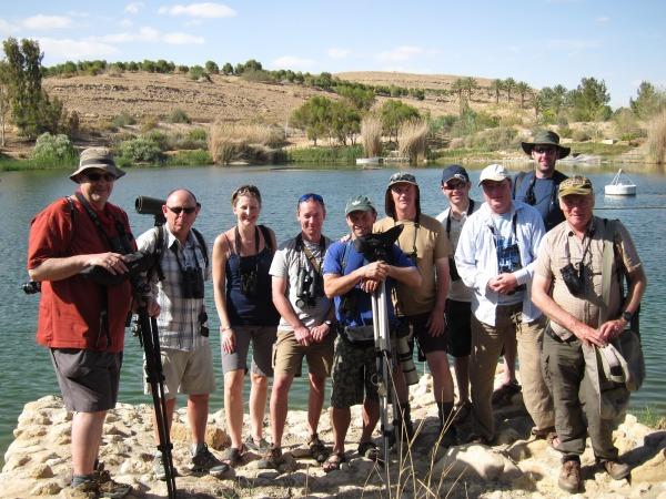 The Team at Neot Samadar Apr 13