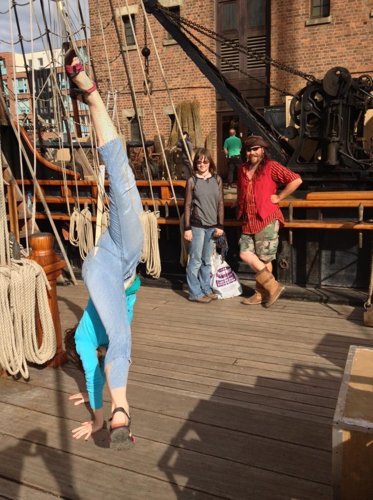 Janis cartwheel