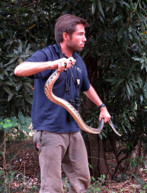 IMG_0756 Dani & snake