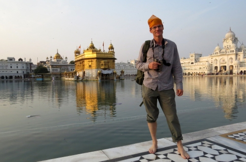 IMG_2314 Frank at Golden Temple Amritsa