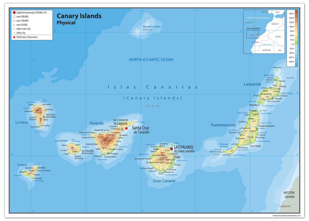 The Canary Islands part 1 Gran Canaria and Fuerteventura 290118